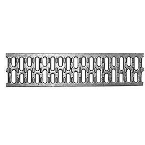 ACO V100 Spalterist 10mm - 1.0m. med lås. kl. A15 . Galvaniseret