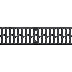 ACO V100 Spalterist 12mm - 0.5m. med lås. kl. C250 . Støbejern