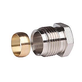Danfoss Klemringsfittings 1/2''. 15 mm til stål- og kobberrørføring
