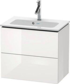 Duravit L-Cube vaskeskab Compact 620x391mm. Hvid højglans