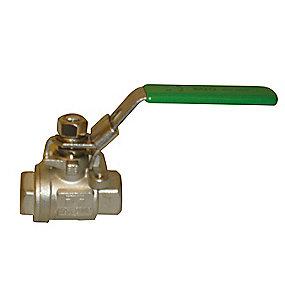 EGO Kugleventil 1/4 type 2006SC med låsbart greb t. hængelås
