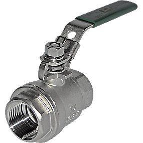 EGO kugleventil 1 type 2006SC med låsbart greb t. hængelås