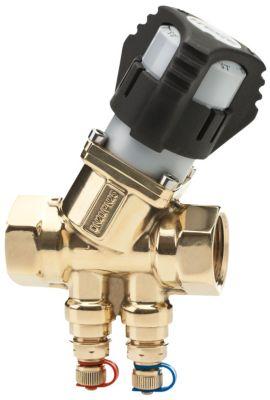 Frese SIGMA Compact Strengreguleringsventil DN20. Low. M/M med trykudtag. Flow omr 86-1550 l/h