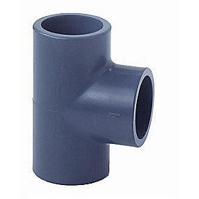 GF PVC Tee 50 mm 90°