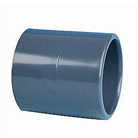 GF PVC muffe lige 50 mm