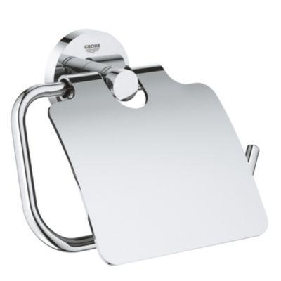 GROHE Essentials toiletrulleholder. Krom