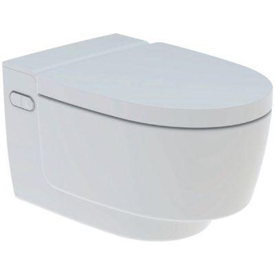 Geberit AquaClean Mera Classic væghængt toilet. Alpinhvid