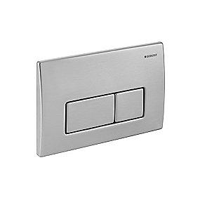 Geberit Kappa50 betjeningsplade børstet stål
