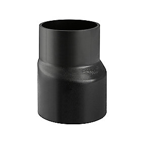 Geberit PE-HD excentrisk reduktion 110/50mm til afløb