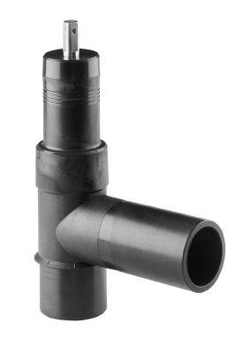 Georg Fischer ELGEF Plus PE Topanboringsventil 63mm med fræser PN16 PE100-SDR11.