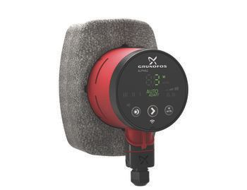 Grundfos ALPHA2 cirkulationspumpe 15-80 130 mm. 1x230V 50Hz 6H
