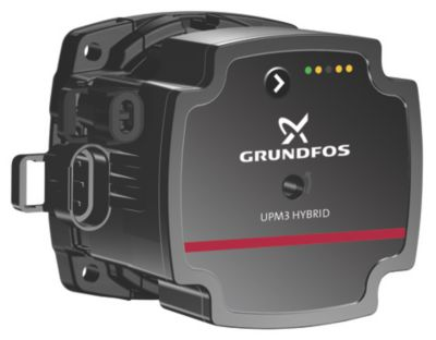 Grundfos UPM3 XX-70 PH Hybrid pumpehoved