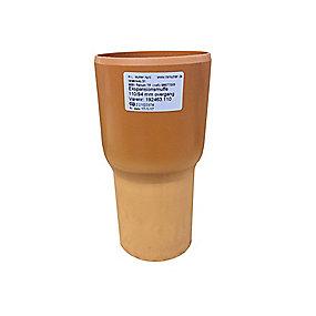 HL ekspansionsovergang 110/94x110 mm. Til 110 mm glat muffe