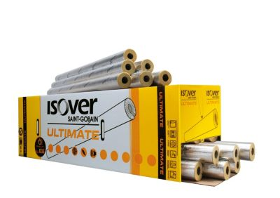 ISOVER Ultimate Protect S1000 rørskål 15 mm med 30 mm isolering. 1