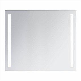 Ifö Option spejl 90 x 64 cm. Med belysning