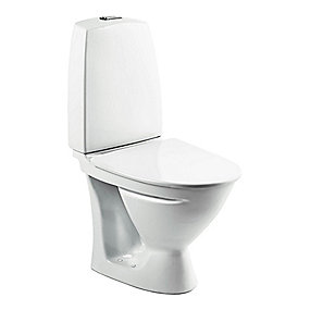 Ifö Sign toilet 6832 Hvid Universallås kort model (P-lås)
