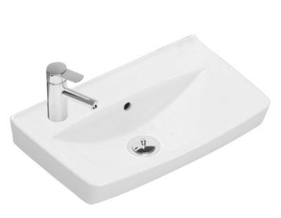 Ifö Spira håndvask 500 x 310 mm. Hanehul venstre. 15018