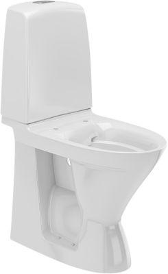 Ifö Spira toilet høj model. S-lås. Rimfree