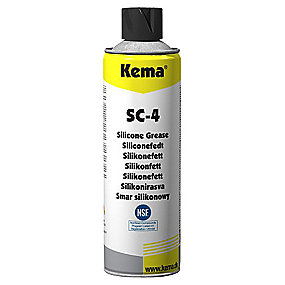 Kema Siliconespray 500 ml SC-4 Eksklusiv afgift. UN 1950 Aerosoler