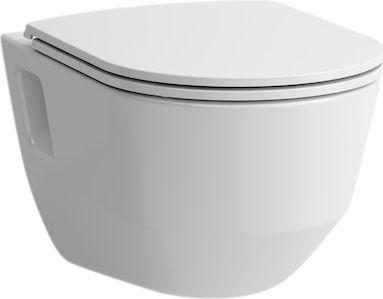 Laufen Pro sampak med hængeskål & sæde med soft close & quick release åben 53 cm. Rimless skylleteknik