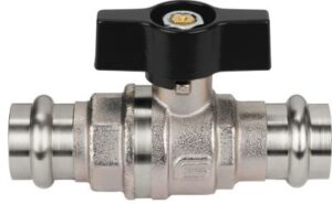 Mercury TEA Press kuglehane 15 mm med T-greb. Press-press. M & V bakke