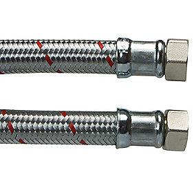 Neoperl kedelslange 3/4'' x 500 mm muffe/muffe. Til koldt/varmt teknisk vand