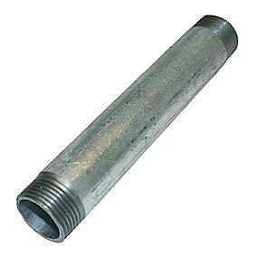 Nippelrør galvaniseret 1'' 150 mm