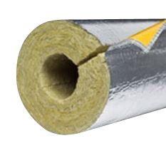 PAROC Hvac Section AluCoat T Alu-rørskål 76x40mm. max. 250°C. 1