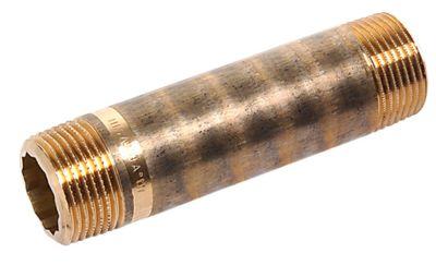 PURAFIT nippelrør 3/4'' x 40 mm. Siliciumbronze. Blyfri.