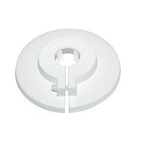 Plastroset Hvid 15 mm / 55 mm todelt
