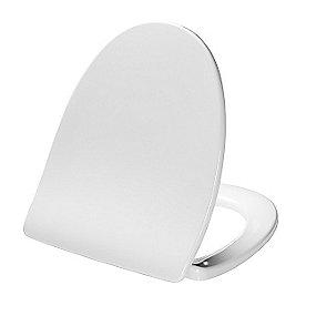 Pressalit Sign 624 toiletsæde med soft close inkl. beslag i rustfrit stål. Hvid