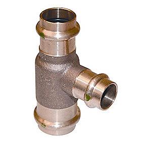 Sanpress t-stykke 35-22-35 mm