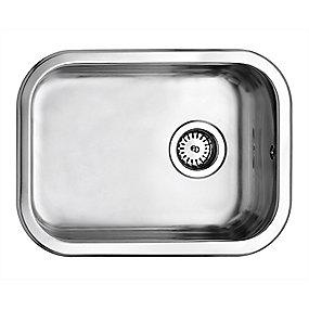 Uni køkkenvask 480x340mm med strainer