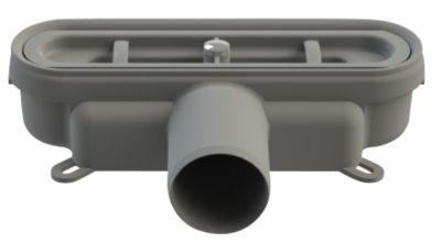 Unidrain Udløbshus Ø50 mm vandret med lugtspærre