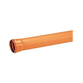 Uponor PVC kloakrør 110x3000mm SN8 EN1401
