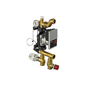 Uponor Push 23A shunt med Vilo Yonos Para RKA 1-6 pumpe