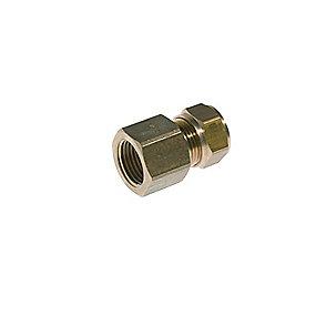 VSH kompressions overgang 1/2'' - 15 mm muffe