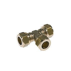 VSH kompressions tee 22 mm