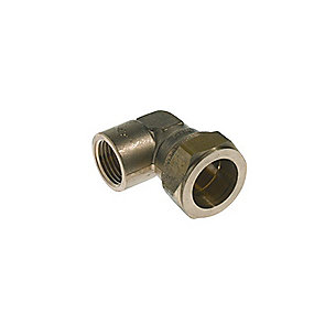 VSH kompressionsovergang vinkel 1/2'' - 15 mm muffe