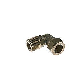 VSH kompressionsovergang vinkel 1/2'' - 15 mm nippel