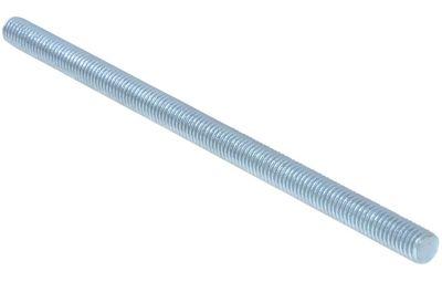 Walraven gevindbolt M8x100mm Elforzinket stål DIN 976-1. Brandtestet