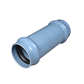Wavin PVC skydemuffe 75 mm PN10
