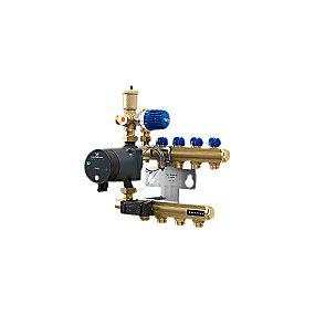 Wavin Tigris Midishunt 4 kreds m/elektronisk pumpe 15-40