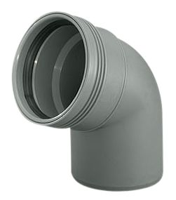 Wavin Wafix HC PP bøjning 50 mm. 67 gr.