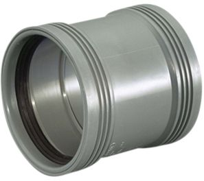 Wavin Wafix HC PP dobbeltmuffe 50mm