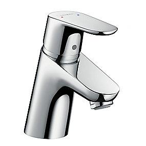hansgrohe Focus 1-grebs håndvaskarmatur uden løft-op