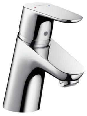 hansgrohe Focus 70 håndvaskarmatur med PushOpen bundventil krom