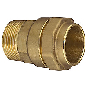 Isiflo overgang med nippel 20 mm x 1/2''