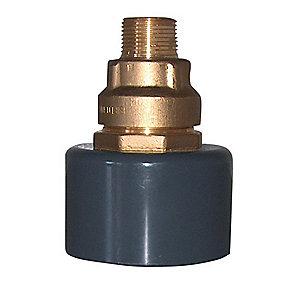 BF Kombi murkobling 90mm - 50mm x 1.1/2'' Til jordvarme