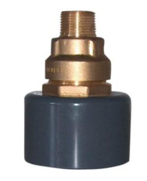 BF Kombi murkobling 63 mm x 2'' nippel for 110mm indføringsbøjning.